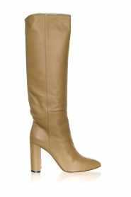 Toral |  High leather boots Pien | mocha  | Picture 1