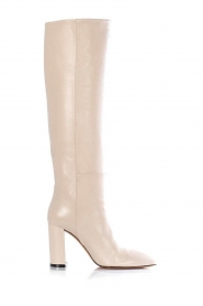 Toral |  Leather knee boots Sofia | natural  | Picture 1