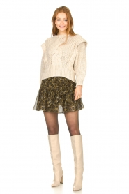 Toral |  Leather knee boots Sofia | natural  | Picture 4