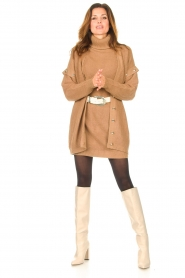 Toral |  Leather knee boots Sofia | natural  | Picture 5
