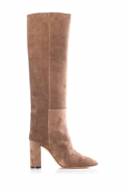 Toral |  Suede knee boots Sofia | brown  | Picture 1