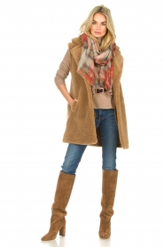 Toral |  Suede knee boots Sofia | brown  | Picture 2