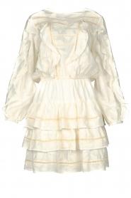 Devotion |  Openwork dress Adna | white  | Picture 1
