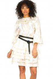 Devotion |  Cotton openwork dress Adna | white  | Picture 4