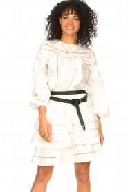 Devotion |  Cotton openwork dress Adna | white  | Picture 2