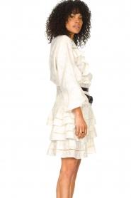 Devotion |  Cotton openwork dress Adna | white  | Picture 5