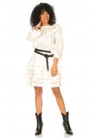 Devotion |  Cotton openwork dress Adna | white  | Picture 3