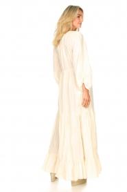 Devotion |  Cotton maxi dress Fortaleza | natural  | Picture 6