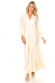 Devotion |  Cotton maxi dress Dories | natural  | Picture 2
