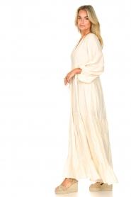 Devotion |  Cotton maxi dress Fortaleza | natural  | Picture 5