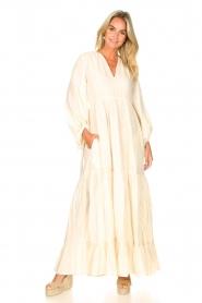 Devotion |  Cotton maxi dress Dories | natural  | Picture 7