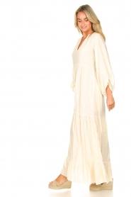 Devotion |  Cotton maxi dress Fortaleza | natural  | Picture 4