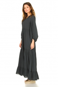 Devotion |  Cotton maxi dress Fortaleza | black  | Picture 5