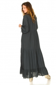 Devotion |  Cotton maxi dress Fortaleza | black  | Picture 6