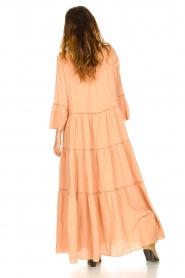 Devotion |  Cotton maxi dress Roos | nude  | Picture 5