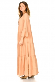 Devotion |  Loose maxi dress Roos | nude  | Picture 4