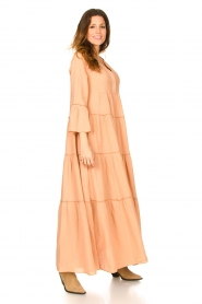 Devotion |  Loose maxi dress Roos | nude  | Picture 6