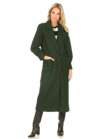CHPTR S |  Trench coat Lead | green  | Picture 4