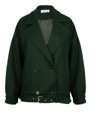 CHPTR S |  Short jacket with belt Final | green  | Picture 1