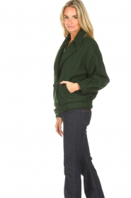 CHPTR S |  Short jacket with belt Final | green  | Picture 6