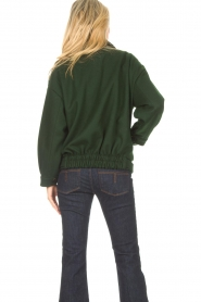 CHPTR S |  Short jacket with belt Final | green  | Picture 7