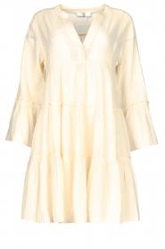 Devotion | Katoenen jurk met ruches Rosaline | naturel: Cotton dress with r  | Picture 1