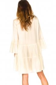 Devotion | Katoenen jurk met ruches Rosaline | naturel: Cotton dress with r  | Picture 7