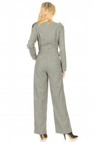 CHPTR S |  Tailored jumpsuit with print Melange | black & white  | Picture 6