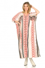 Devotion |  Kaftan with fringes Charless | multit   | Picture 6