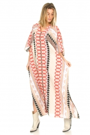 Devotion |  Kaftan with fringes Charless | multit   | Picture 4