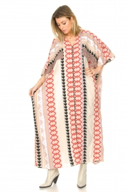 Devotion |  Kaftan with fringes Charless | multit   | Picture 5