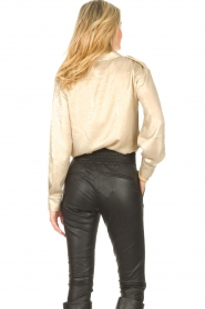 CHPTR S |  Shiny blouse Dolce | gold  | Picture 7