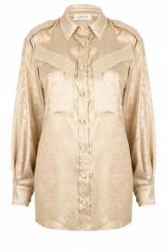 CHPTR S |  Shiny blouse Dolce | gold  | Picture 1