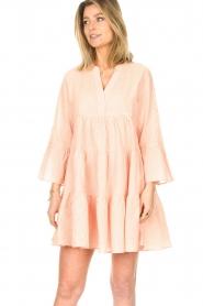 Devotion | Katoenen jurk Jill | nude   | Afbeelding 4