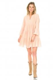 Devotion | Katoenen jurk Jill | nude   | Afbeelding 3
