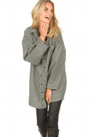 CHPTR S    Oversized blouse Blend   black    Picture 4