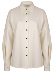 CHPTR S |  Blouse with puff sleeves Corny | natural  | Picture 1