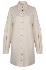 CHPTR S    Blouse dressm with puff sleeves Corny   ecru    Picture 1