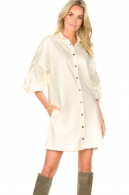 CHPTR S    Blouse dressm with puff sleeves Corny   ecru    Picture 2