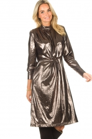 CHPTR S |  Shiny dress Festive | metallic  | Picture 4