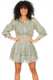 Sofie Schnoor |  Smocked cotton skirt Karoline | black  | Picture 2