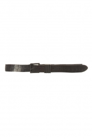 The Kaia |  Leather belt Polly | black  | Picture 1