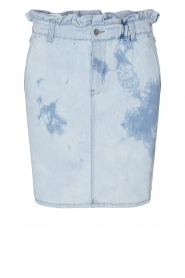 Sofie Schnoor |  Skirt with tie dye effect May | blue  | Picture 1