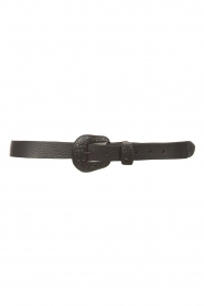 The Kaia |  Leather belt Elanore | black  | Picture 1