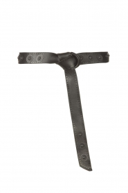The Kaia |  Leather studded belt Dolly | black  | Picture 1