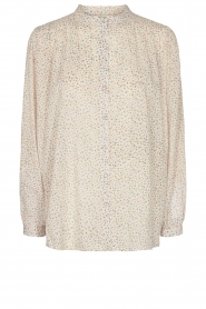 Sofie Schnoor |  Cotton floral blouse Cloe | natural  | Picture 1