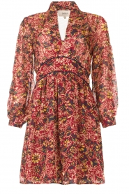 ba&sh |  Printed dress Giani | bordeaux  | Picture 1