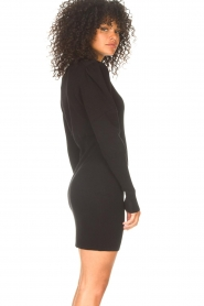 ba&sh    Knitted dress Salome   black    Picture 5