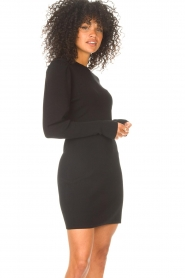 ba&sh    Knitted dress Salome   black    Picture 4