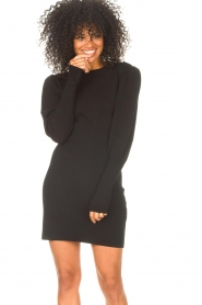 ba&sh    Knitted dress Salome   black    Picture 2
